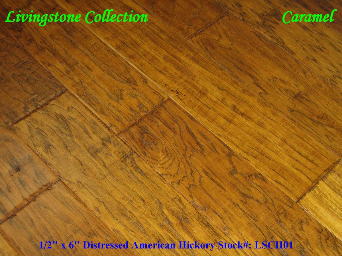 Country Wood Flooring Caramel 6 Hickory Livingstonecollection